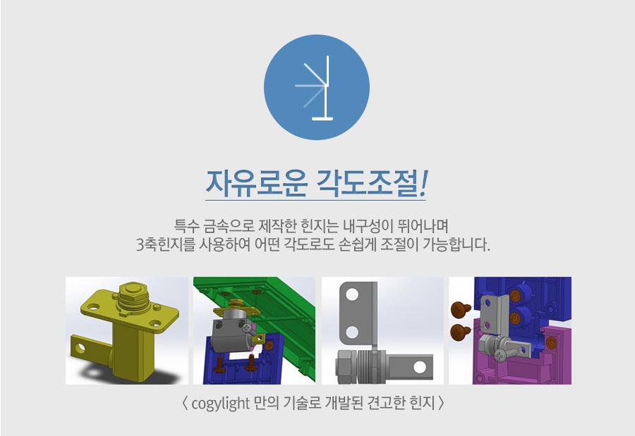CogyLight LED DesklampTB-L270P- Đèn bàn Hàn Quốc chống cận