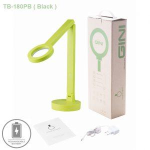 Đèn bàn chống cận Hàn Quốc TB-180PB-Green. Tích điện, màu Xanh nõn