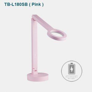 cogylight_TB-180SB-Pink Đèn bàn cao cấp màu Hồng. Đèn bàn màu Hồng hợp mệnh Thổ, mệnh Hỏa, mệnh Mộc