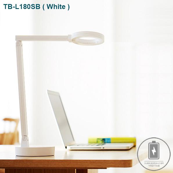 cogylight_TB-180SB-White Đèn bàn cao cấp Hàn Quốc màu Trắng hợp mệnh Kim, mệnh Thủy, mệnh Mộc